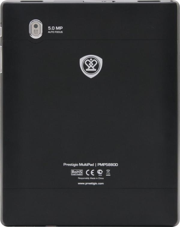 Prestigio MultiPad 8.0 Ultra Duo: тыльная сторона