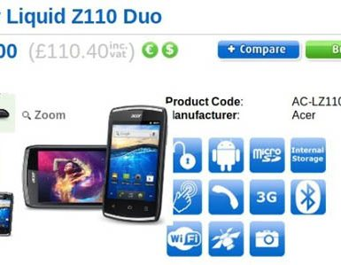 Acer Liquid Z110 Duo