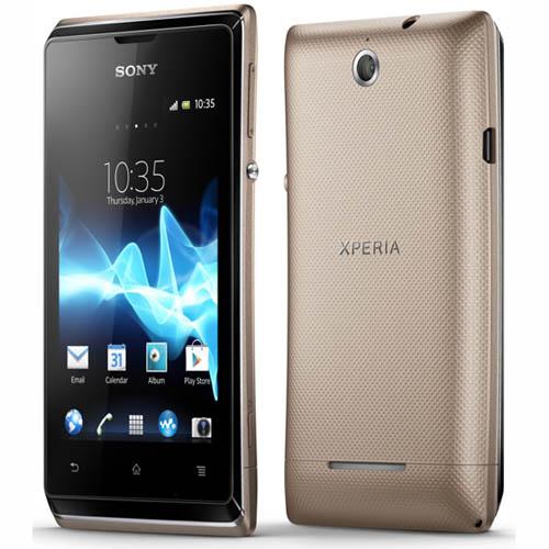 Обнародована цена Sony Xperia E и Xperia E dual