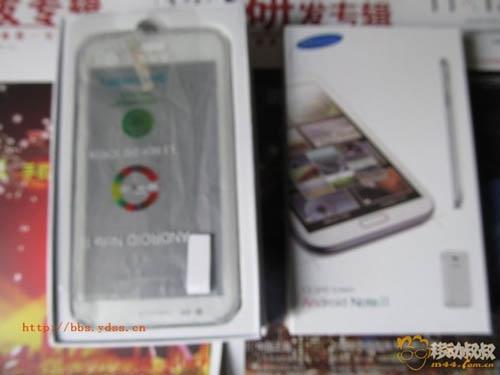 Китайский клон Samsung Galaxy Note 2 в распакованном виде