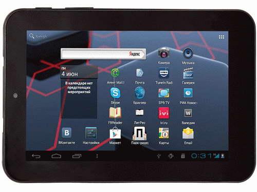 Анонс планшета Ritmix RMD-755