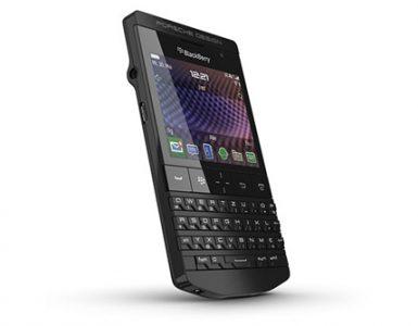 BlackBerry Porche Design P''9981 Black