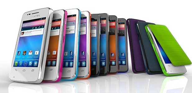 CES 2013: Анонс бюджетных смартфонов Alcatel One Touch X'Pop, S'Pop, M'Pop и T'Pop