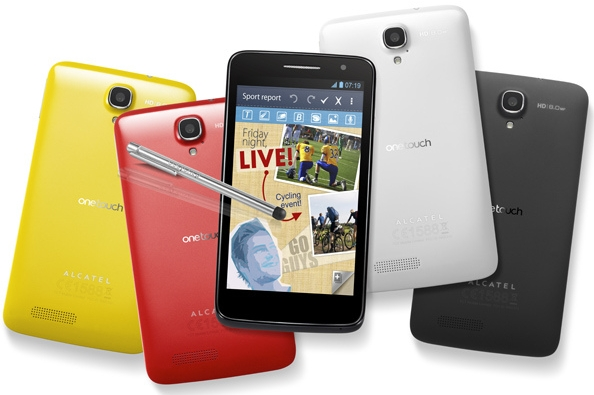 Alcatel One Touch Scribe HD, Alcatel One Touch Scribe HD-LTE, Alcatel One Touch Scribe X
