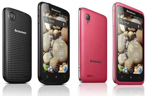 CES 2013: Анонс смартфонов Lenovo IdeaPhone S720, S890, P770 и A800