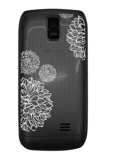 Nokia Asha Charme: серебро