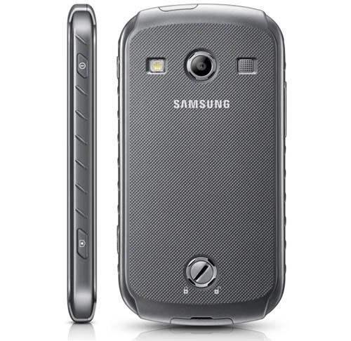 Смартфон Samsung Galaxy Xcover 2 S7710: задняя крышка