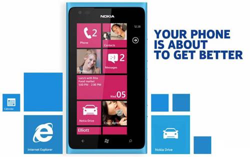 Nokia на ОС Windows Phone 7.8