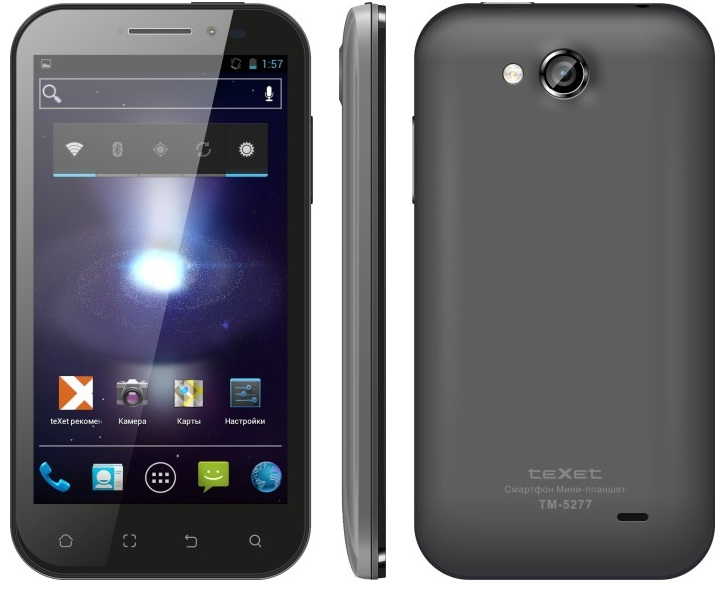 Старт продаж смартфона teXet TM-5277