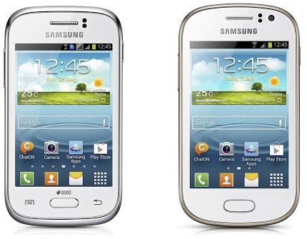 Samsung Galaxy Young и Samsung Galaxy Fame