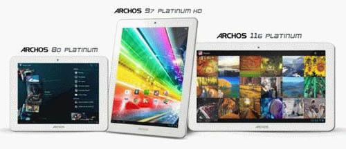 Archos 80 Platinum и Archos 97 Platinum