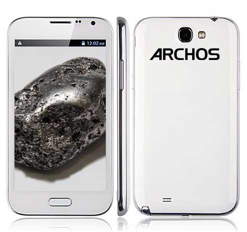 Анонс смартфонов Archos 52 Titanium, 48 Titanium и 35 Carbon