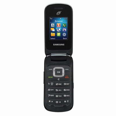 Телефон Samsung SGH-S275G: раскрытый