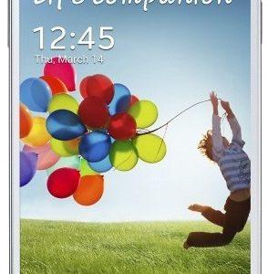 Samsung Galaxy S4: вид спереди