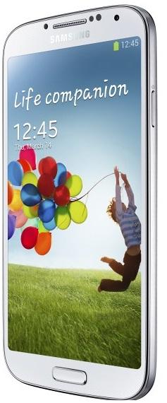 Смартфон Samsung Galaxy S4: вид сбоку