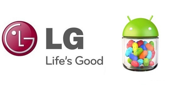 LG и Android 4.1.2 Jelly Bean