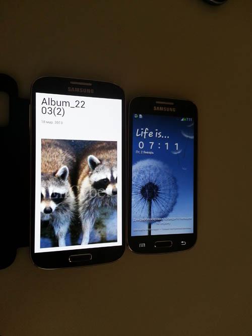Samsung Galaxy S4 Mini и Samsung Galaxy S4