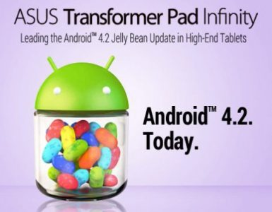 Android 4.2 для ASUS Transformer Pad Infinity