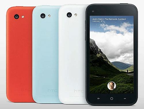 Анонс первого Facebook-смартфона HTC First