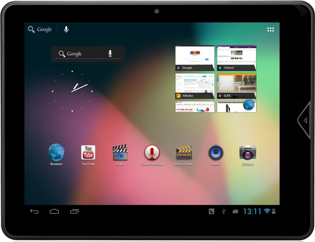 Анонс планшета teXet TM-9748 3G