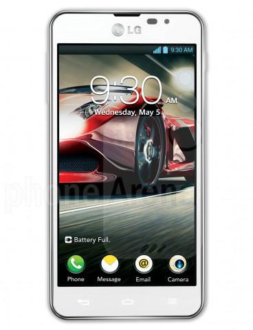 Начинаются продажи смартфона LG Optimus F5