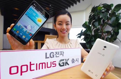 Анонс смартфона LG Optimus GK в Южной Корее