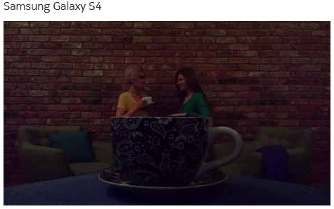 Фото, сделанное на Samsung Galaxy S4
