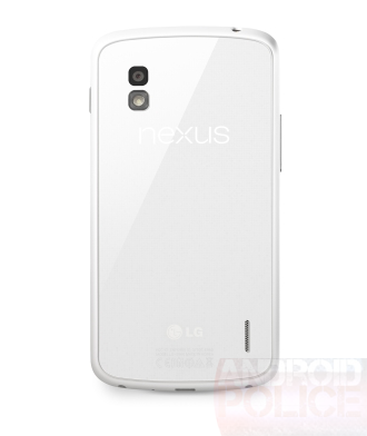 LG Nexus 4: задняя крышка