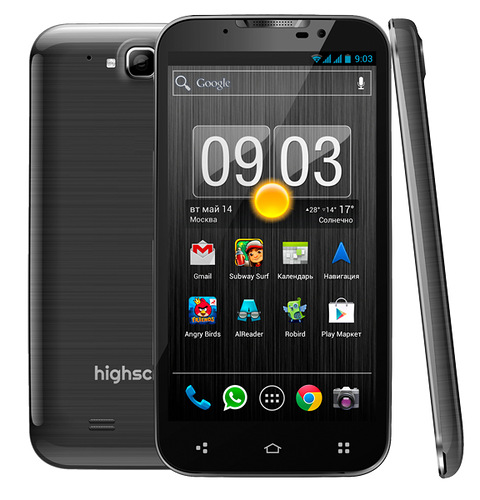 Анонс 4-ядерного смартфона Highscreen Alpha GTX