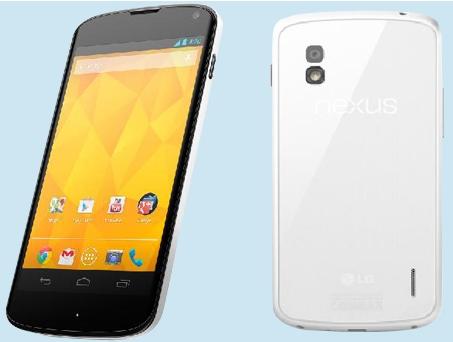 Анонс белого LG Nexus 4