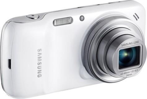 Samsung Galaxy S4 Zoom: тыльная сторона с объективом