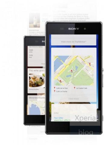 Пресс-фото смартфона Sony Honami