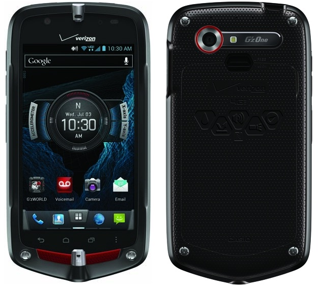 Casio G'zOne Commando 4G LTE