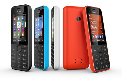 Nokia 207, Nokia 208