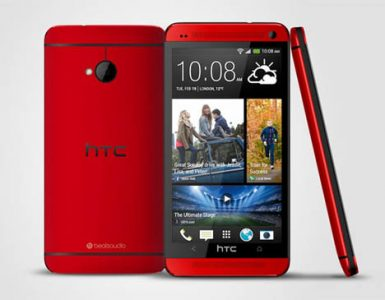 HTC One Glamour Red Edition