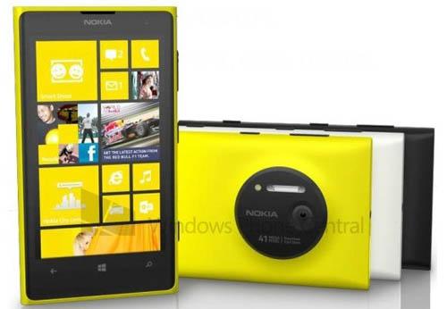 Официальное фото смартфона Nokia Lumia 1020