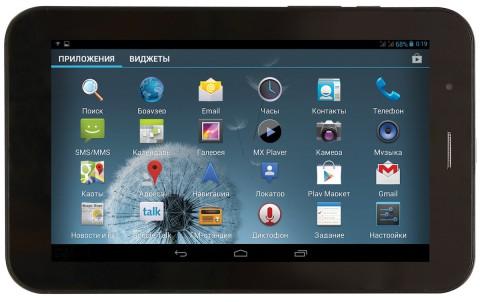 Анонс планшета Ritmix RMD-751