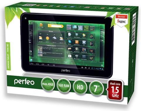 Старт продаж планшета Perfeo 7506-HD