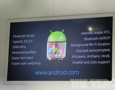 Android 4.3 Jelly Bean, Sony