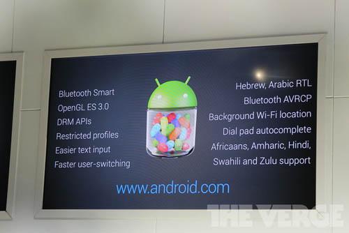 Android 4.3 Jelly Bean, Sony