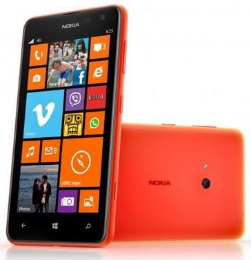 Начали принимать предзаказы на Nokia Lumia 625 в России