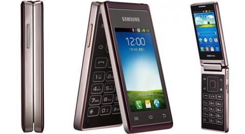 Анонс смартфона-раскладушки Samsung Hennessy