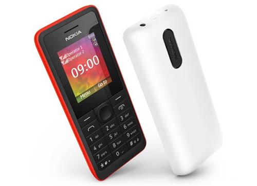 Анонс бюджетных телефонов Nokia 106 и Nokia 107 Dual SIM