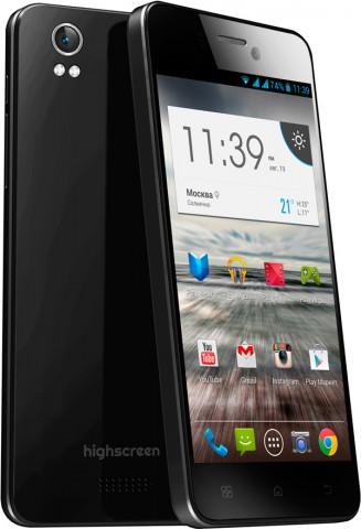 Анонс смартфона Highscreen Alpha Ice