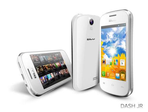 Анонс смартфонов BLU DASH JR, DASH MUSIC 4.0 и DASH 5.0