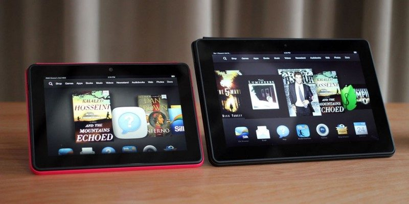 Amazon Kindle Fire HDX 7 и Amazon Kindle Fire HDX 8.9