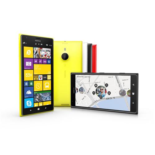 Nokia Lumia 2520 и Nokia Lumia 1520