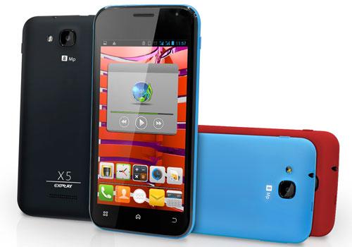 Старт продаж смартфона Explay X5