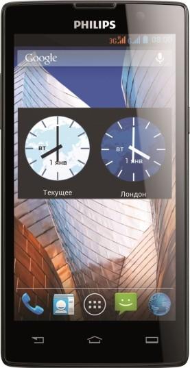 Анонс смартфона Philips W3500
