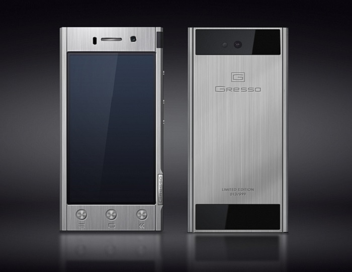 Анонс титанового смартфона Gresso Radical R1
